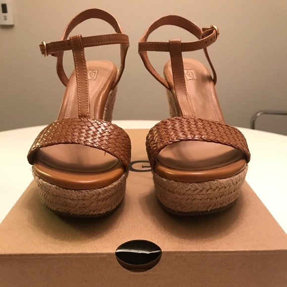 e268b98a37 UGG Shoes | Fitchie Ii Espadrille Wedge Sandal | Poshmark